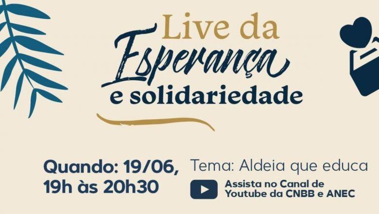 Pe. Fábio de Melo é o convidado especial, hoje, da live da Esperança e da Solidariedade