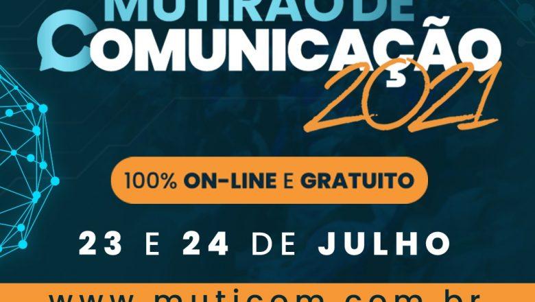 MAIOR ENCONTRO DE COMUNICAÇÃO ECLESIAL DO PAÍS, MUTIRÃO DE COMUNICAÇÃO 2021 APRESENTA PROGRAMAÇÃO